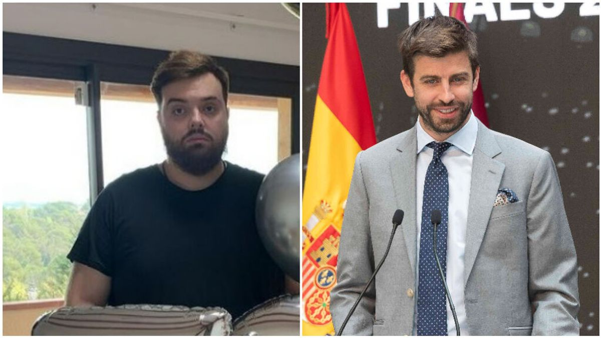"""Ibai Llanos cena con Piqué: """"Mi tío el del pueblo que me ha obligado a venir"""""""