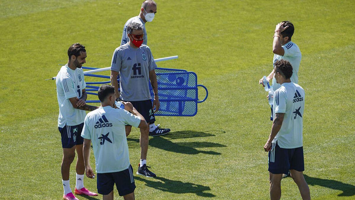 Los jugadores de la Selección Española no dan positivos en los primeros test PCR de la EUFA