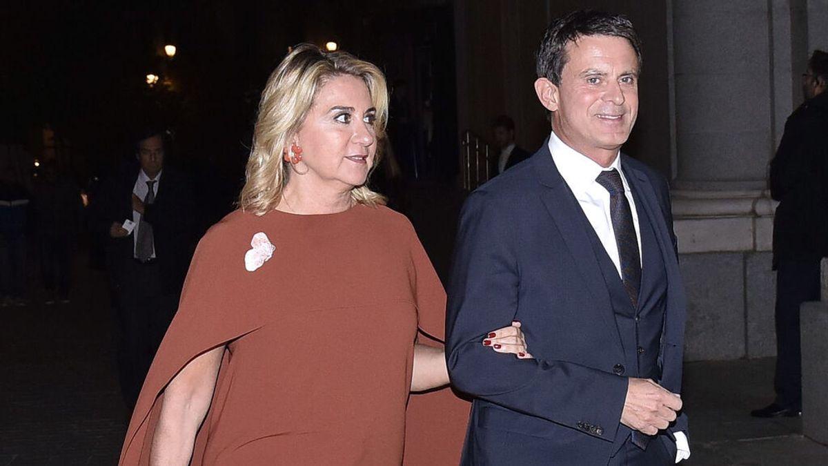 Roban el reloj de un tirón a Susana Gallardo, la pareja de Manuel Valls, en Barcelona