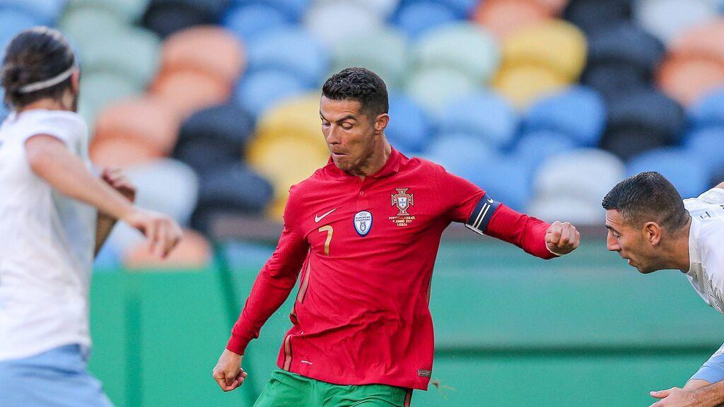 Cristiano Ronaldo y Bruno Fernández sentencian el partido ante Israel en dos minutos (2-0)