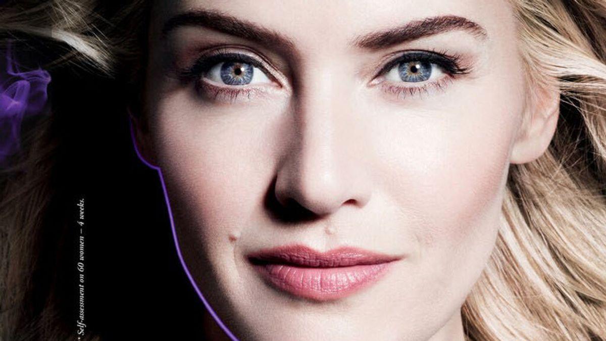 Kate Winslet, en una campaña de Lancome con retoque digital