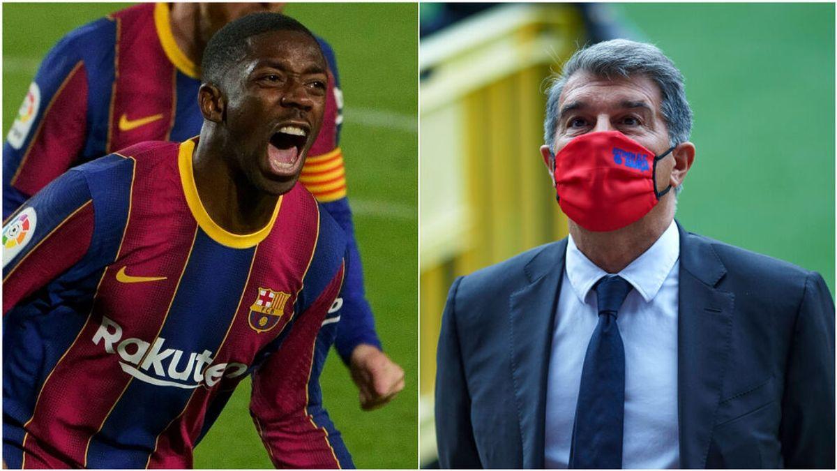 EL Barça se harta de las evasivas de Dembélé y le da dos opciones: la renovación o la venta