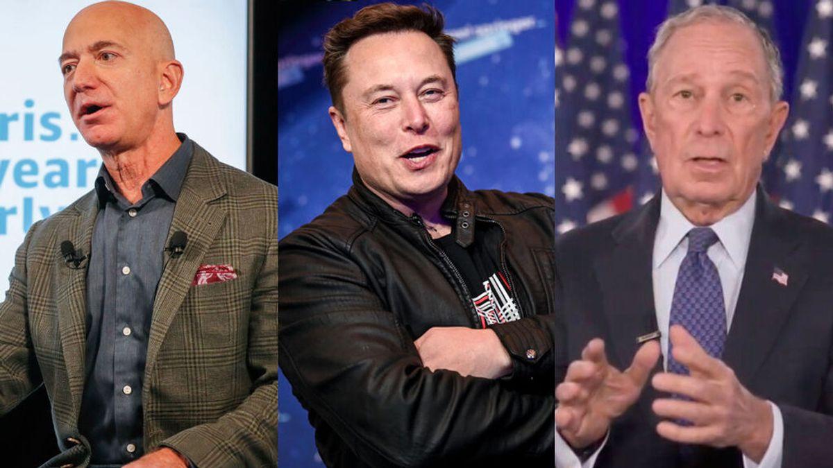 Investigan la filtración de la renta de las mayores fortunas de Estados Unidos, entra ellas la de Jeff Bezos