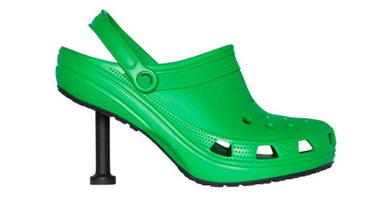 Crocs y Balenciaga se unen para crear unos sorprendentes zapatos de tacón alto