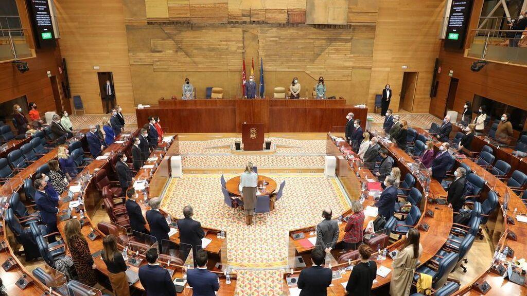 En directo: sesión constituyente de la Asamblea de Madrid