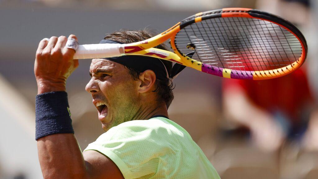 Rafa Nadal se deja un set ante Schwartzman pero consigue el pase a semifinales de Roland Garros (6-3, 4-6, 6-4 y 6-0)