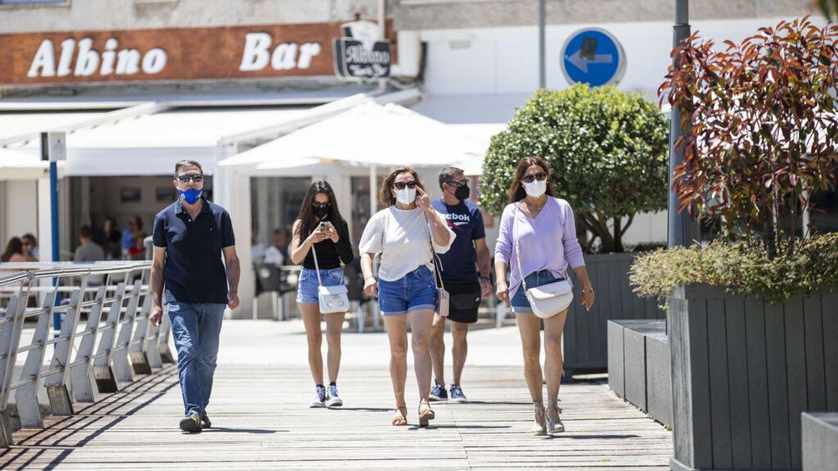 Ciudadanos pide al Gobierno que se pueda ir sin mascarilla por la calle y con distancia de seguridad