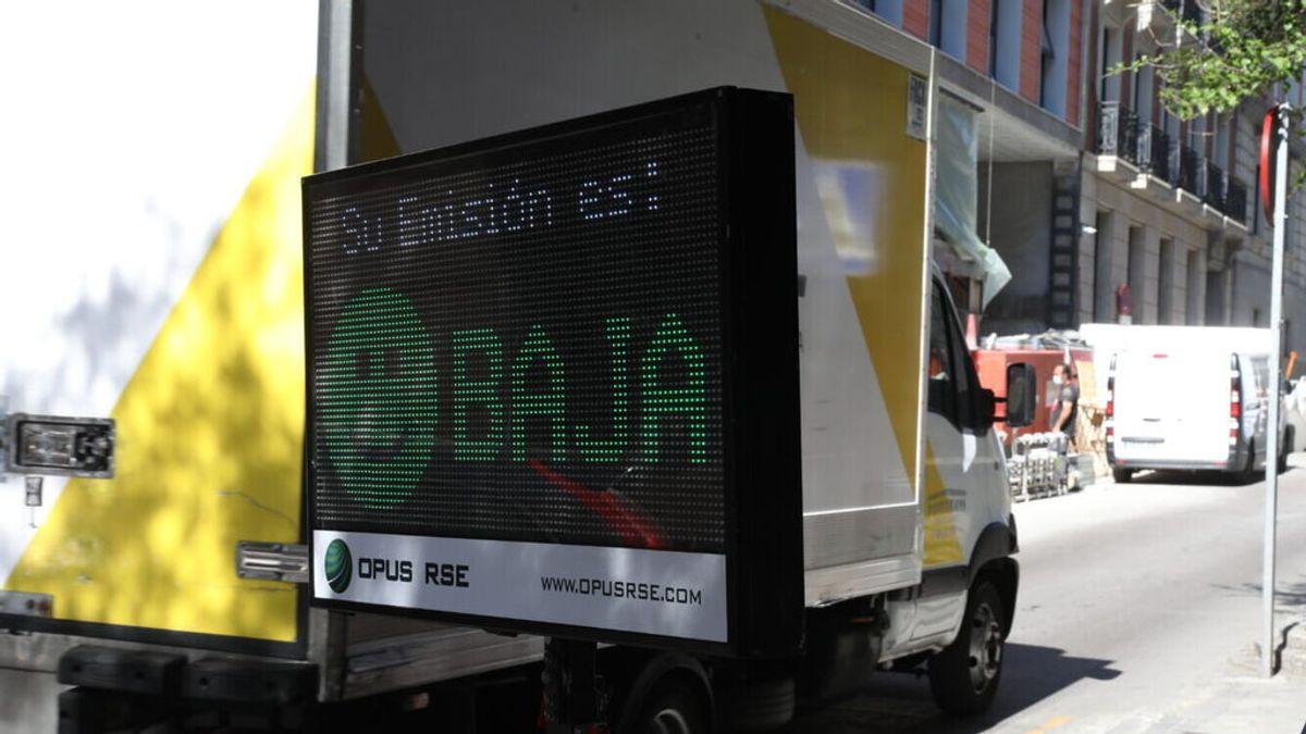 """El radar de emisiones que """"vigila"""" a los vehículos contaminantes en Madrid"""