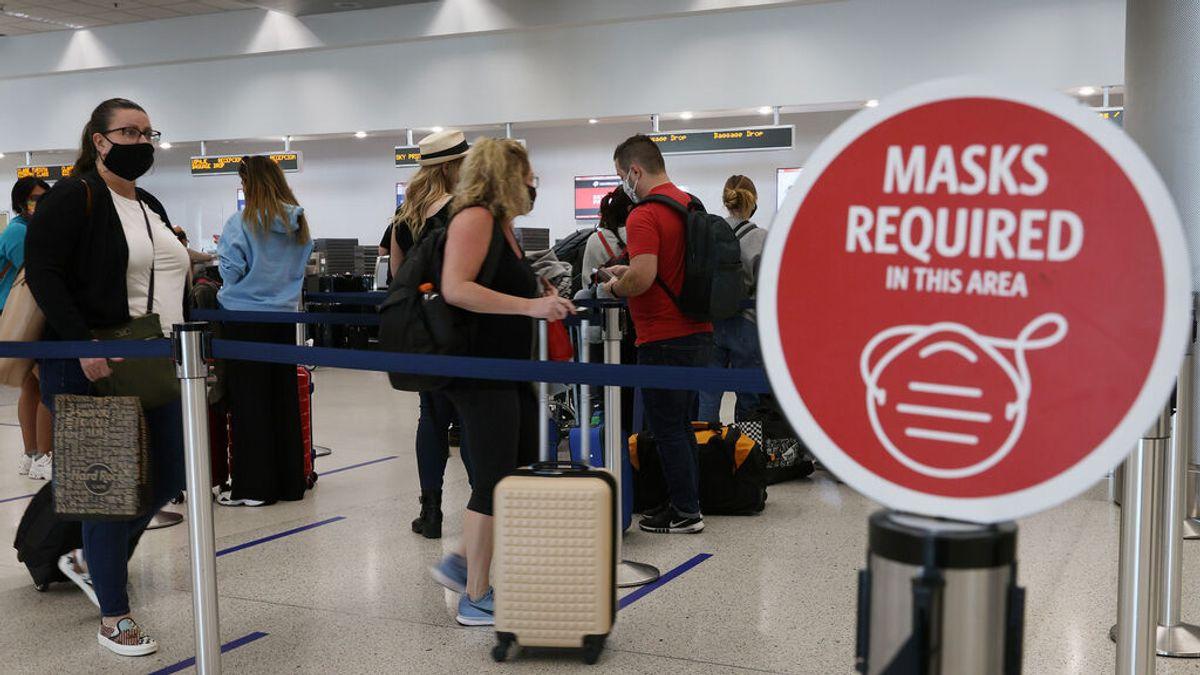 EEUU flexibiliza las recomendaciones para viajar a otros países como España por la caída de contagios de covid
