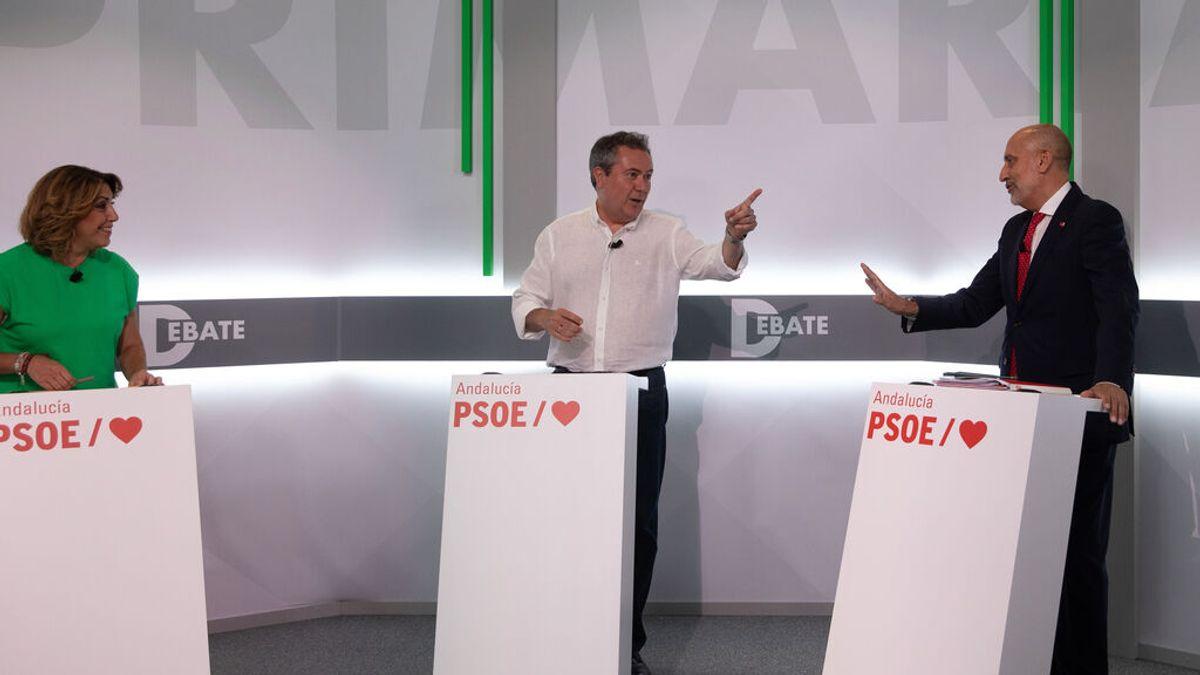 "El debate divide al PSOE andaluz entre la ""libertad"" frente a Ferraz de Susana Díaz o la ""unidad"" de Espadas"