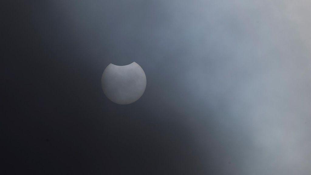 Las mejores imágenes del eclipse solar