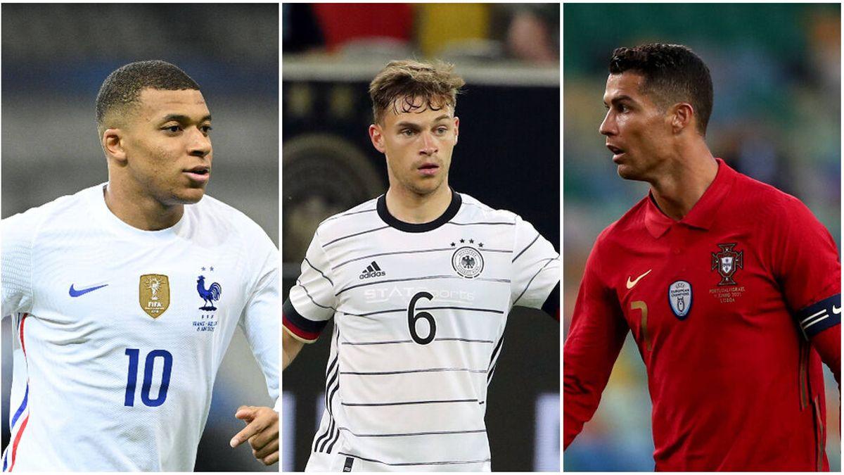 Cristiano Ronaldo, Mbappé y Kimmich son las superestrellas del Grupo F de la Eurocopa