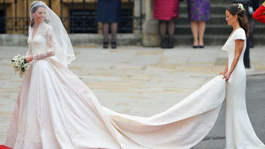 Pippa Middleton centró toda la atención.
