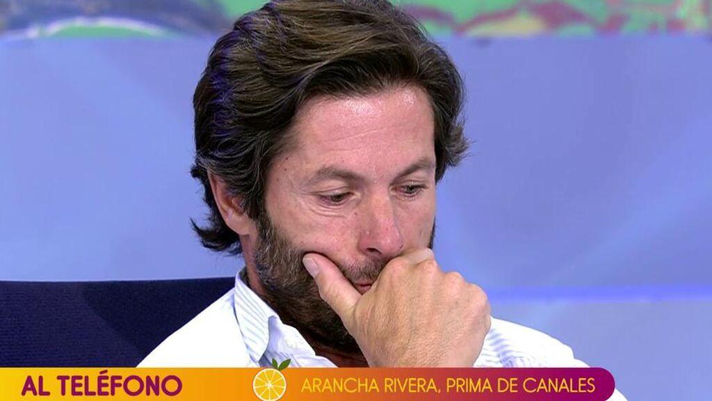 """La prima de Canales Rivera interviene en directo en 'Sálvame' tras pillar a su primo llamándola """"demonio"""""""