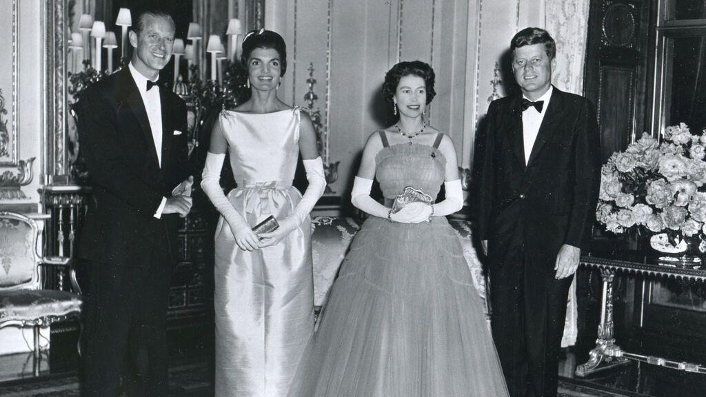 La reina de Inglaterra y sus encuentros con 13 presidentes de Estados Unidos