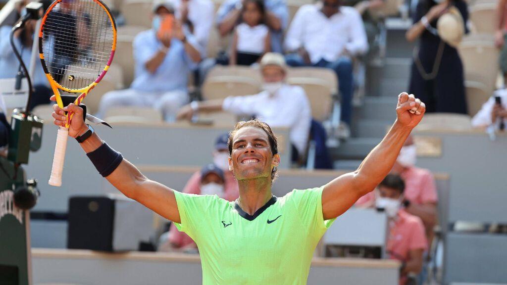 La avalancha de golpes de Rafa Nadal que saca a Schwartzman del partido y le mete en semis de Roland Garros