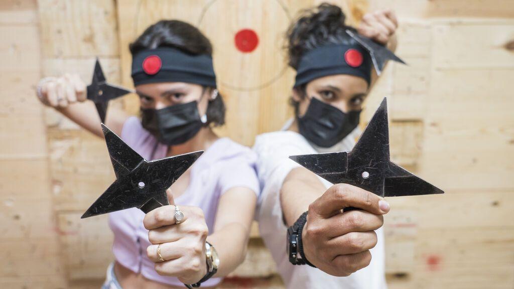 Los 'shuriken' de ninja