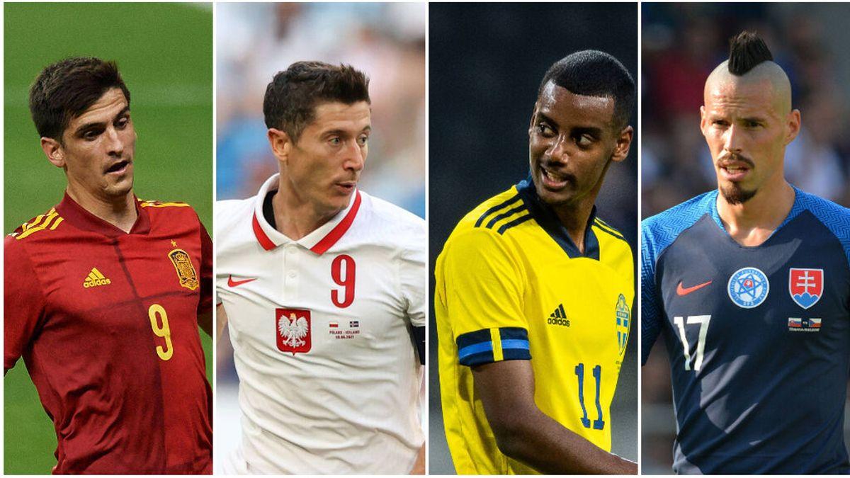 Lewandowski, Isak y Hamsik son las amenazas para España en el Grupo E de la Eurocopa