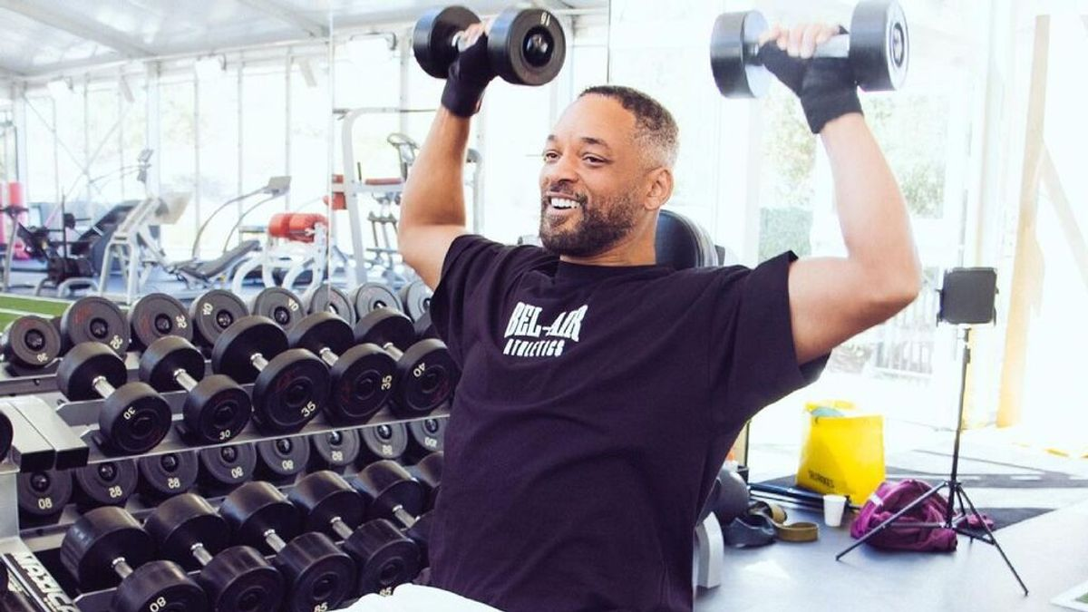 Musculación, alimentación o yoga: así está siendo el entrenamiento de Will Smith para bajar tripa