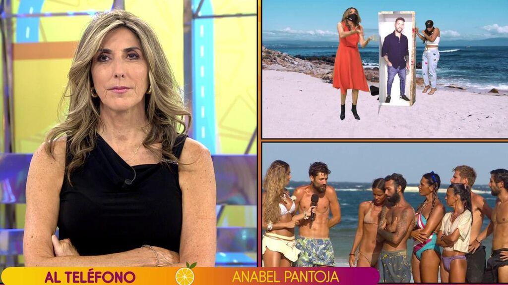 """Anabel Pantoja, del problema de su novio Omar Sánchez en 'Supervivientes': """"Lo pasé muy mal porque no lo reconozco"""""""