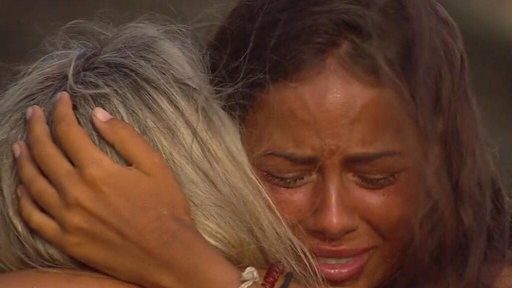 """El tierno encuentro entre Melyssa y su madre: """"No quiero que te vayas"""""""
