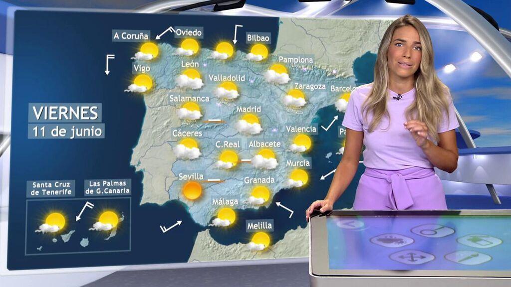 ¡Se avecinan tormentas con granizo! El tiempo que hará el viernes en España