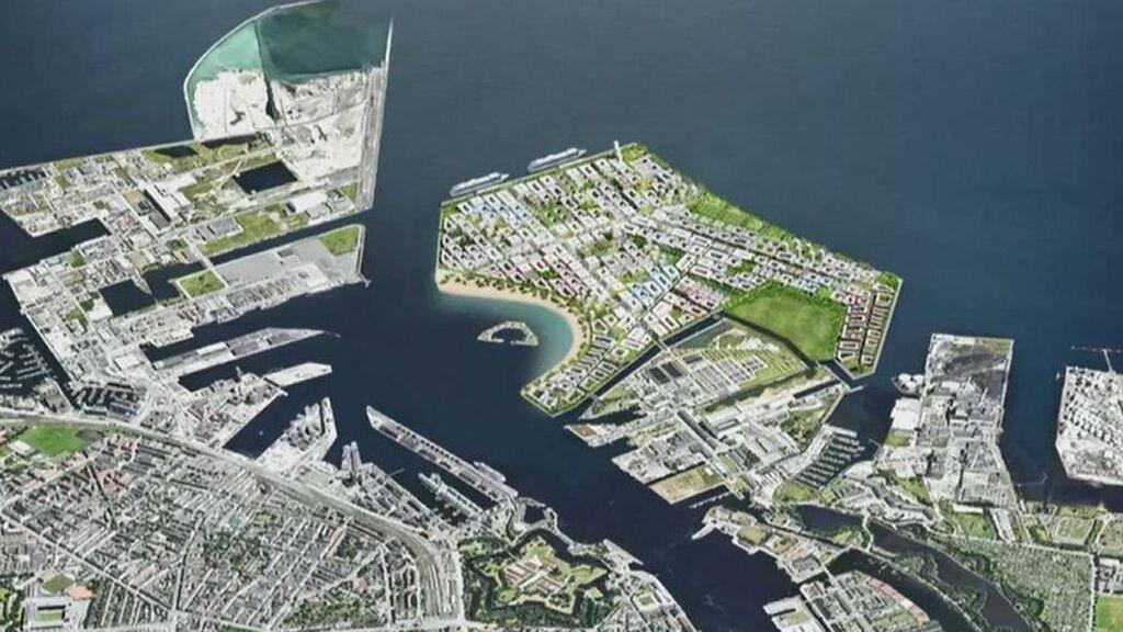 Dinamarca construirá la enorme isla artificial Lynetteholm