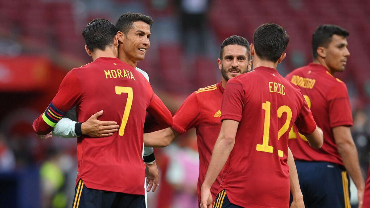 Los jugadores de la selección de futbol han sido ya vacunados en la localidad madrileña de Las Rozas