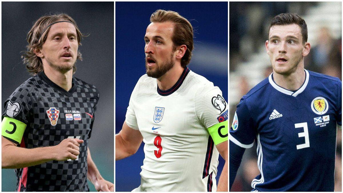 Harry Kane, Luka Modric y Andy Robertson son los nombres propios del Grupo D de la Eurocopa