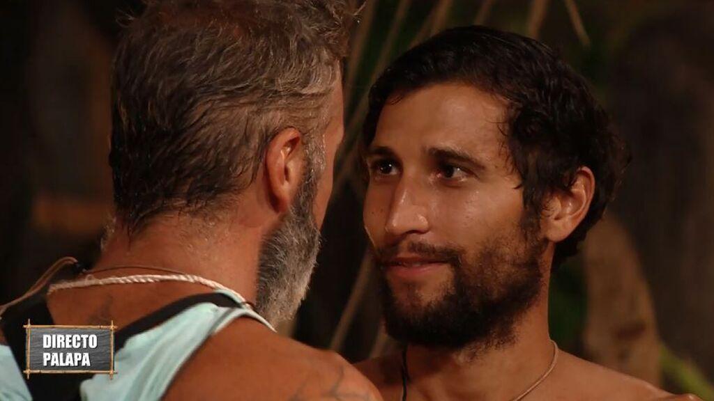"""Las emotivas palabras de Carlos a Gianmarco tras ser expulsado de 'SV': """"Eres mi ganador"""""""