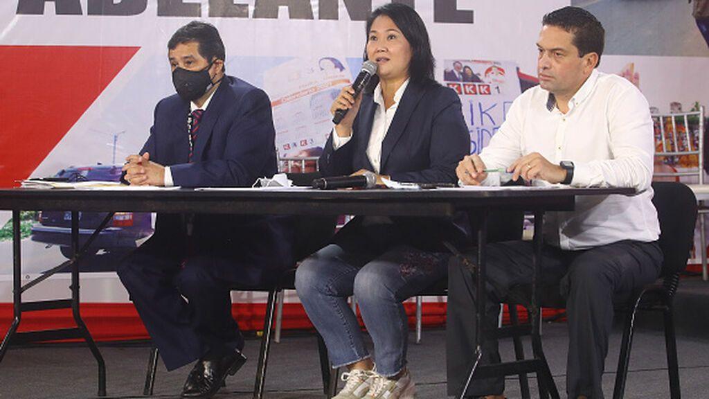 """Keiko Fujimori pide la nulidad de 200.000 votos por """"irregularidades"""""""