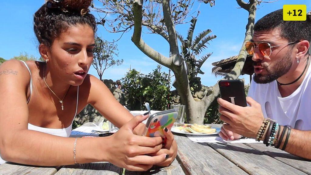 Zoe descubre los mensajes que Josué se manda con otras chicas (2/2)