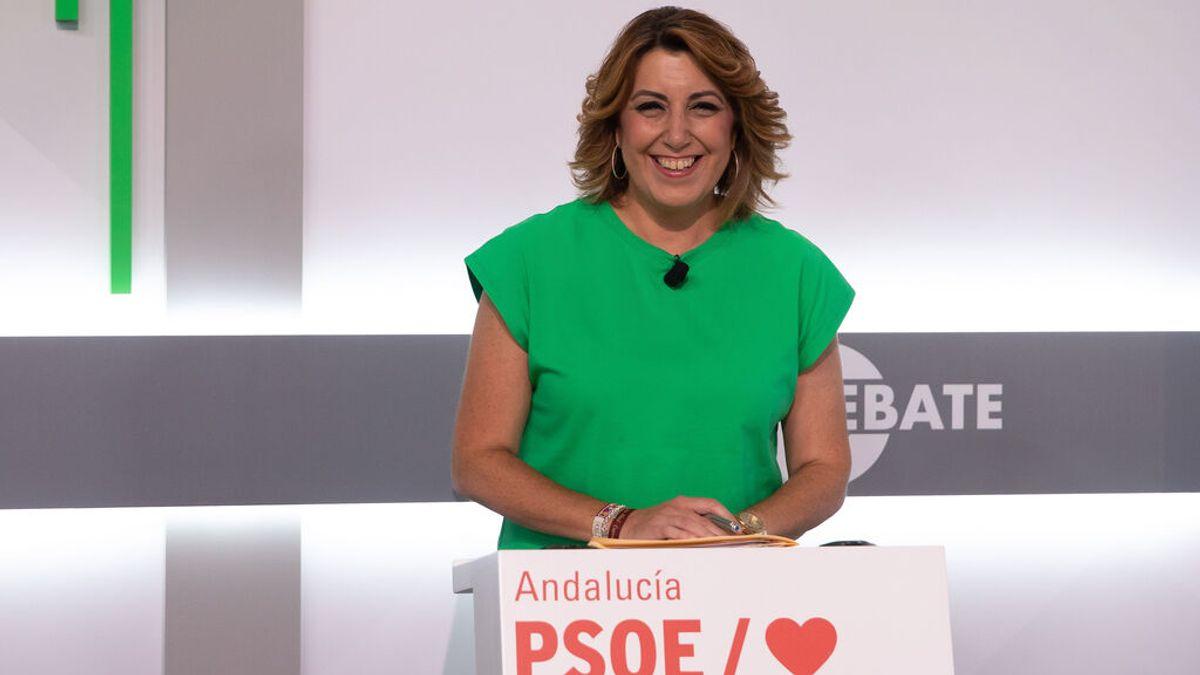Susana Díaz, secretaria general del PSOE de Andalucía