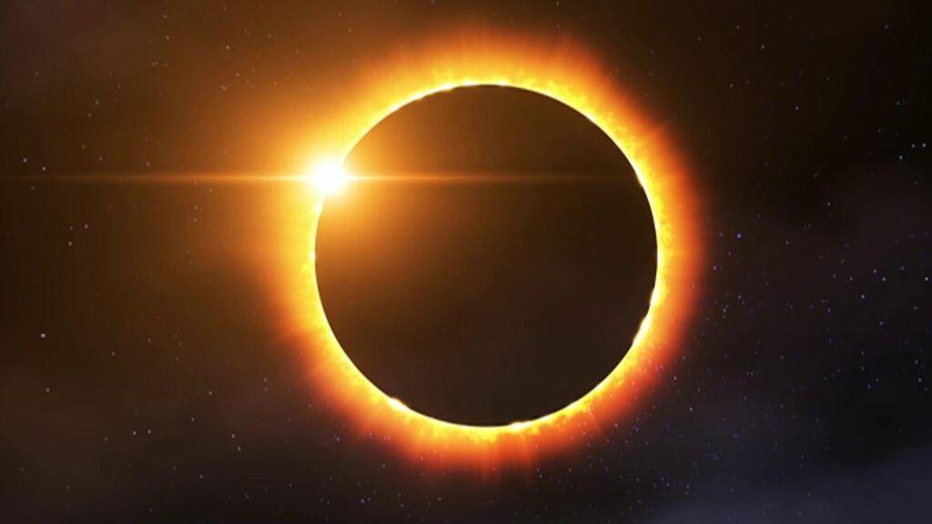 Las imágenes más espectaculares del eclipse de Sol del jueves, 10 de junio