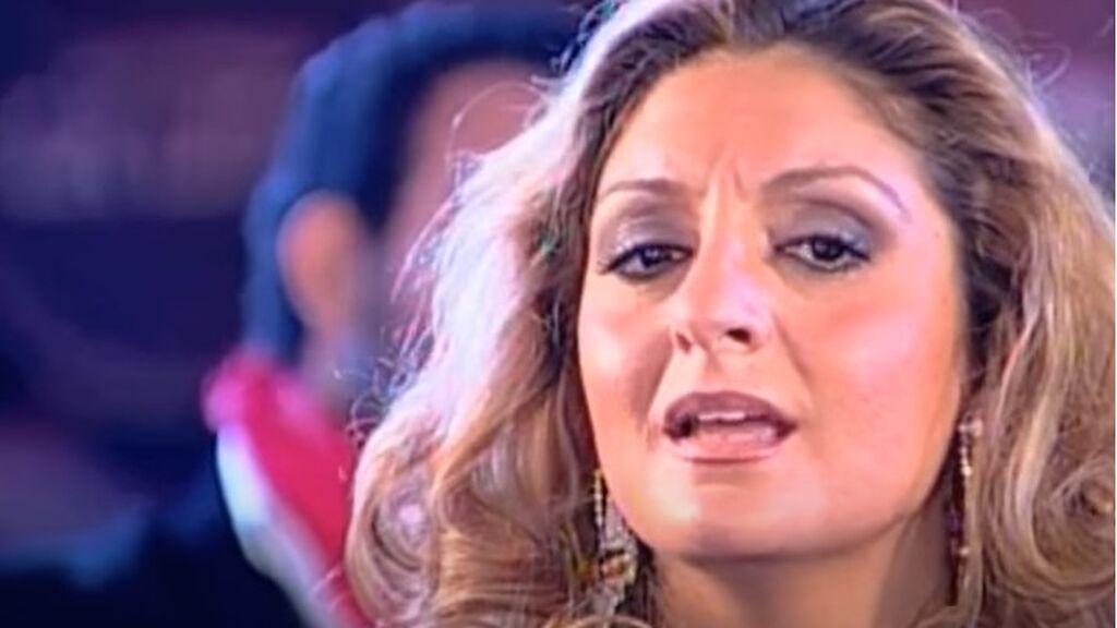 Kina Méndez, cantante y actual pareja de Diego, El Cigala, en 'Gente de primera' (2005)