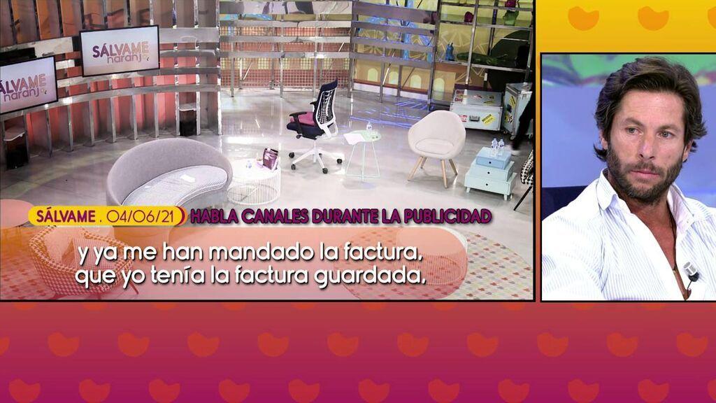 La pillada a Canales Rivera