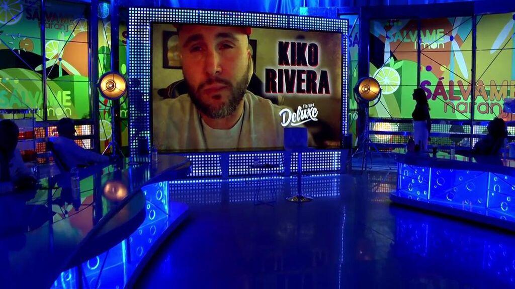 Kiko Rivera se sienta en el 'Deluxe' tras ratificar la demanda contra su tío, Agustín Pantoja