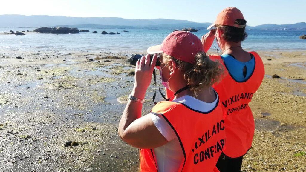 210608 mariscadoras vigilando