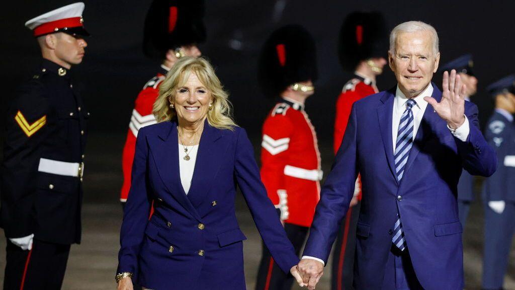 Joe Biden comienza su gira por Europa con una agenda en la que incluye a Johnson, Putin y los líderes del G7