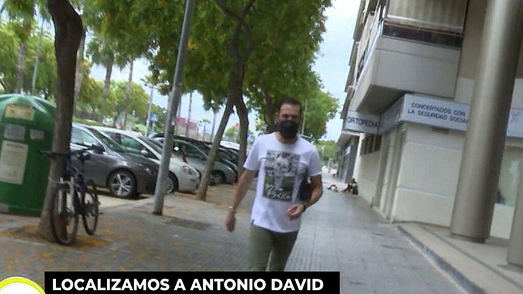 Mucho más delgado y con ojeras: La última imagen pública de Antonio David Flores