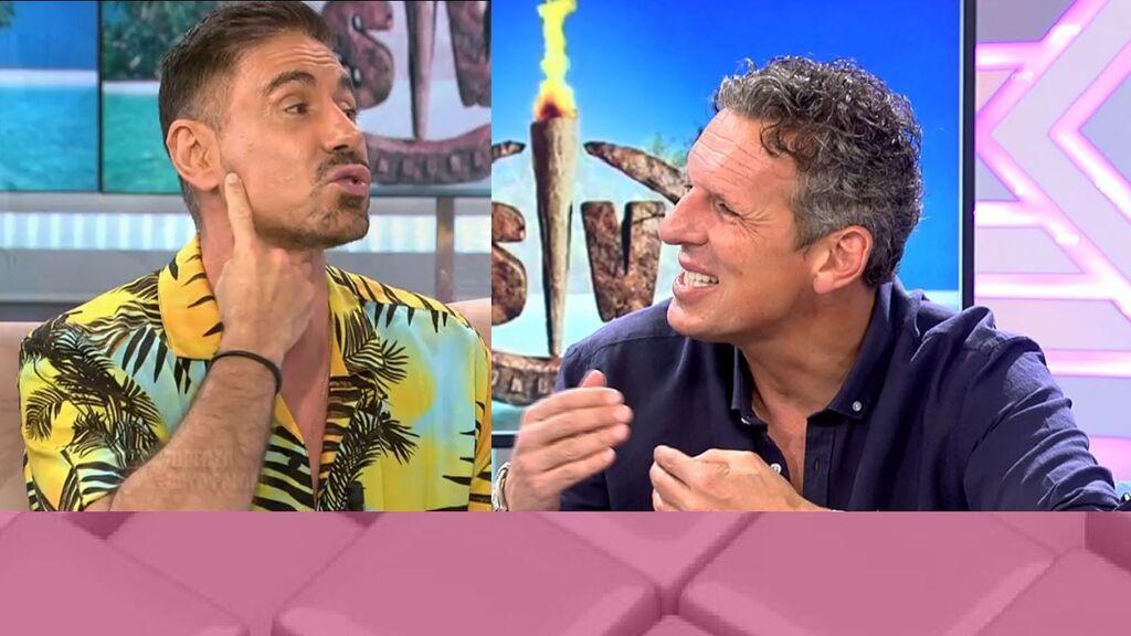Joaquín Prat y Miguel Ángel Nicolás, tensión en plató