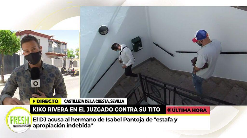 Kiko Rivera pide que Isabel Pantoja declare como testigo en la demanda que ha ratificado contra su tío Agustín