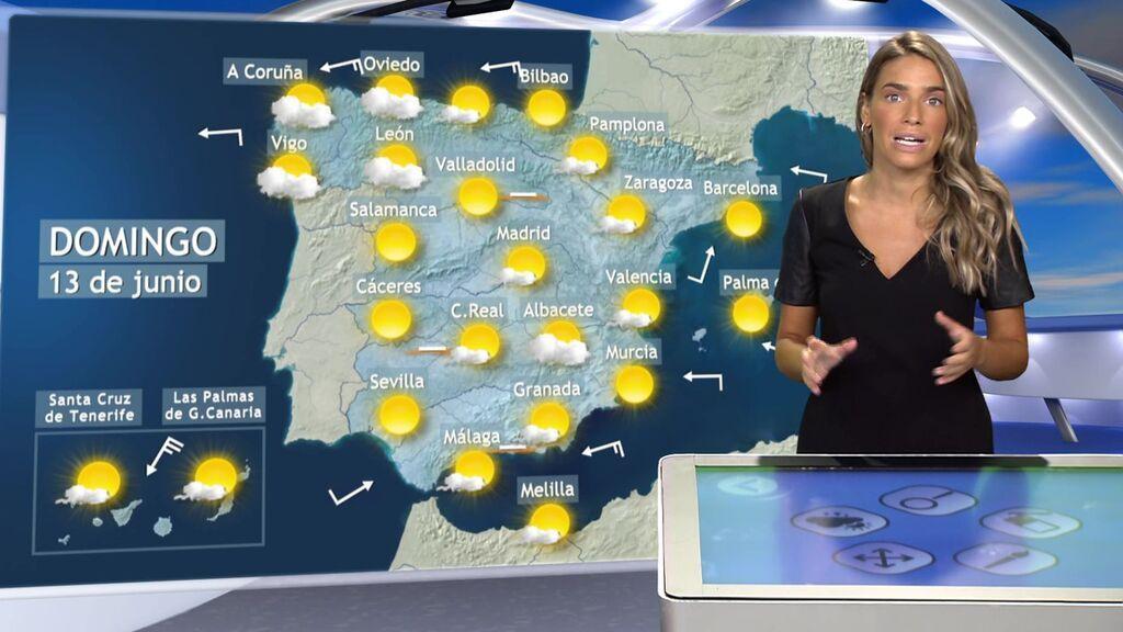 Llega una Dana a España con tiempo adverso: la previsión para el fin de semana