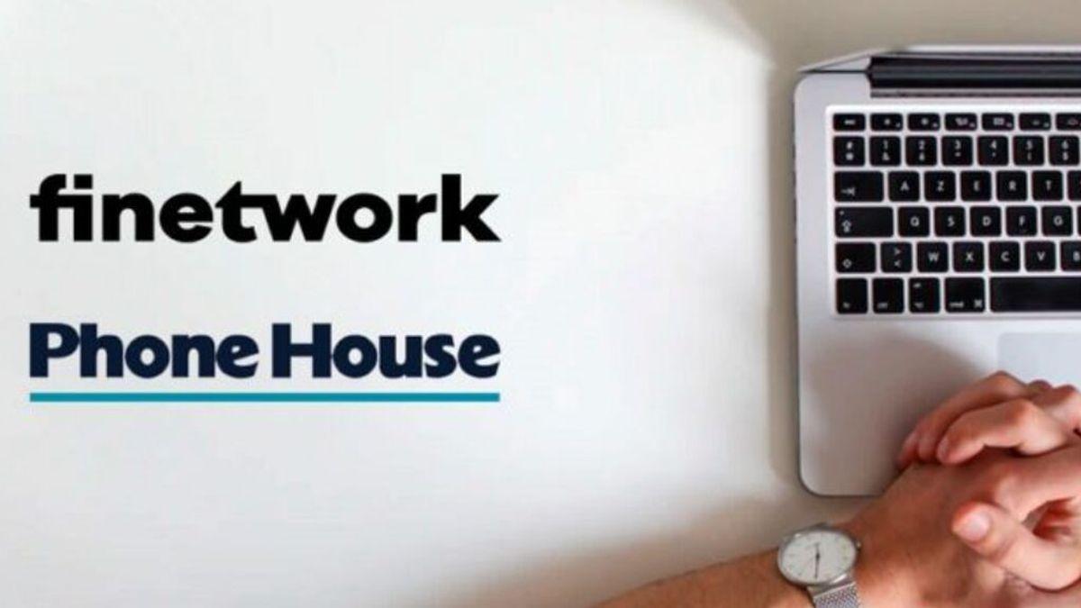 Finetwork comercializará su oferta de fibra y móvil en las tiendas de Phone House y canales digitales