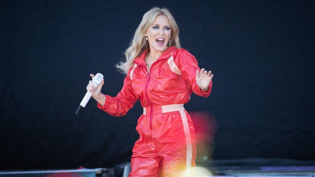 Kylie Minogue versiona la canción de Lady Gaga, 'Marry the Night'