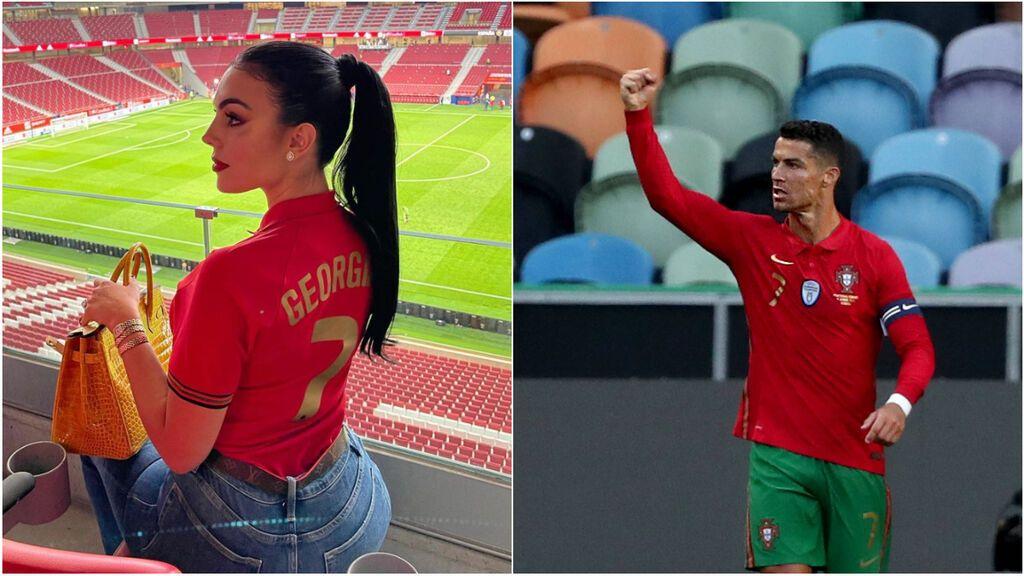 """Georgina Rodríguez deja clara cuál es su postura de cara a la Eurocopa: """"Buena suerte"""""""