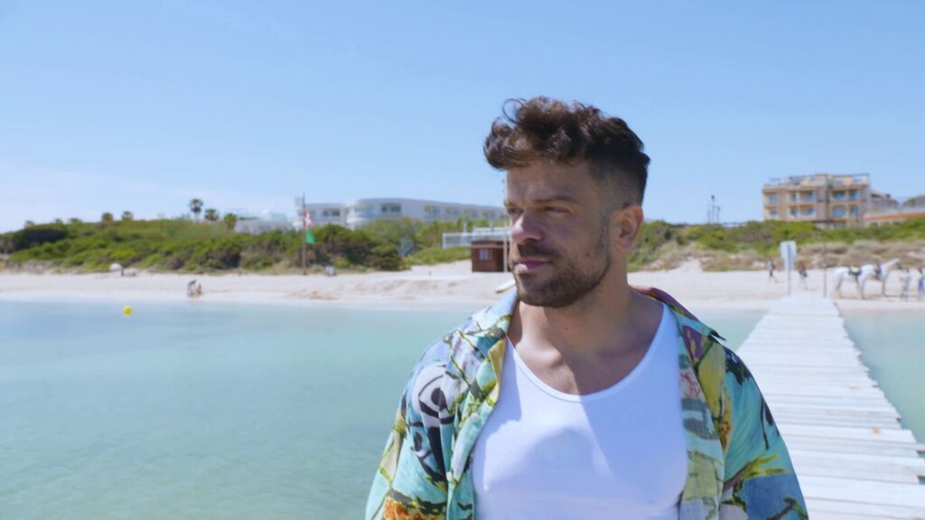 La playa preferida de Ricky Merino en Mallorca