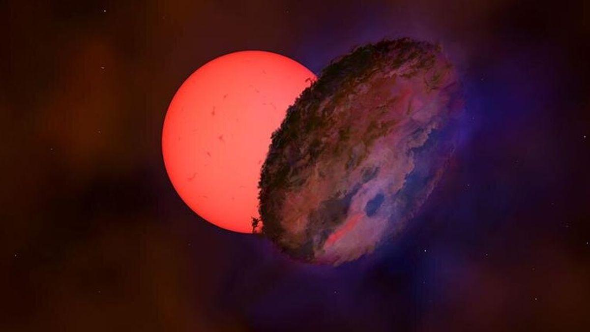 """Astrónomos encuentran una estrella gigante """"parpadeante"""" en el centro de la Vía Láctea"""
