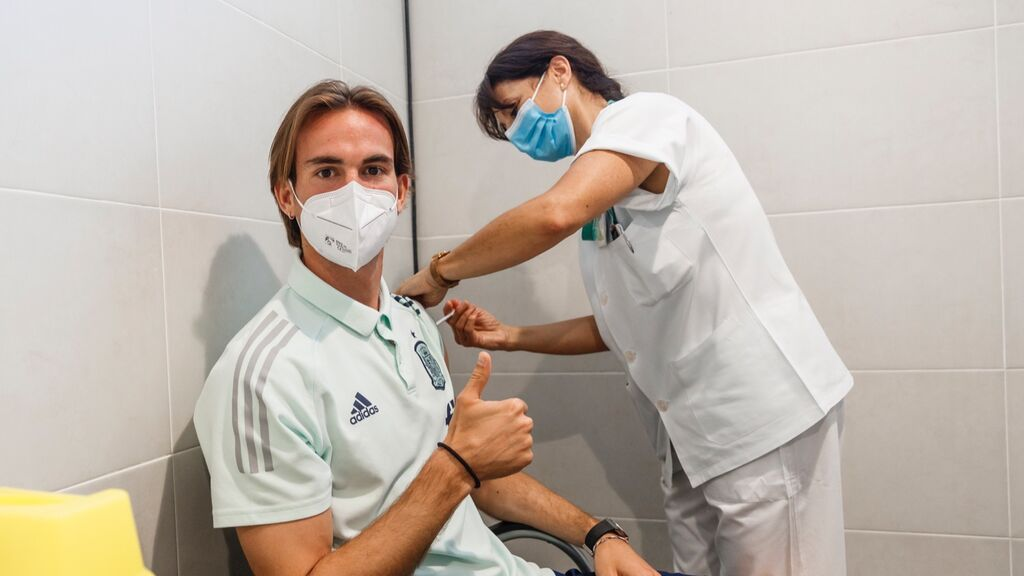 El ejército ya ha vacunado a la Selección Española en Las Rozas