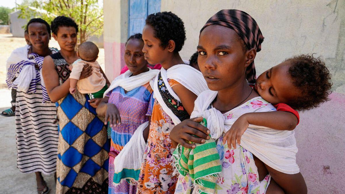 La ONU alerta: más de 350.000 personas sufren hambruna en la región de Tigray, en Etiopía